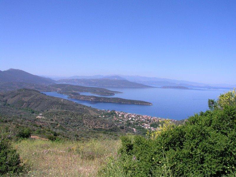 pogled na more poluostrvo pilion