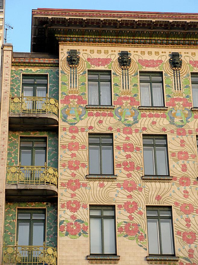Majolika, zgrada Ota Vagnera pored gradske tržnice Nahtmark