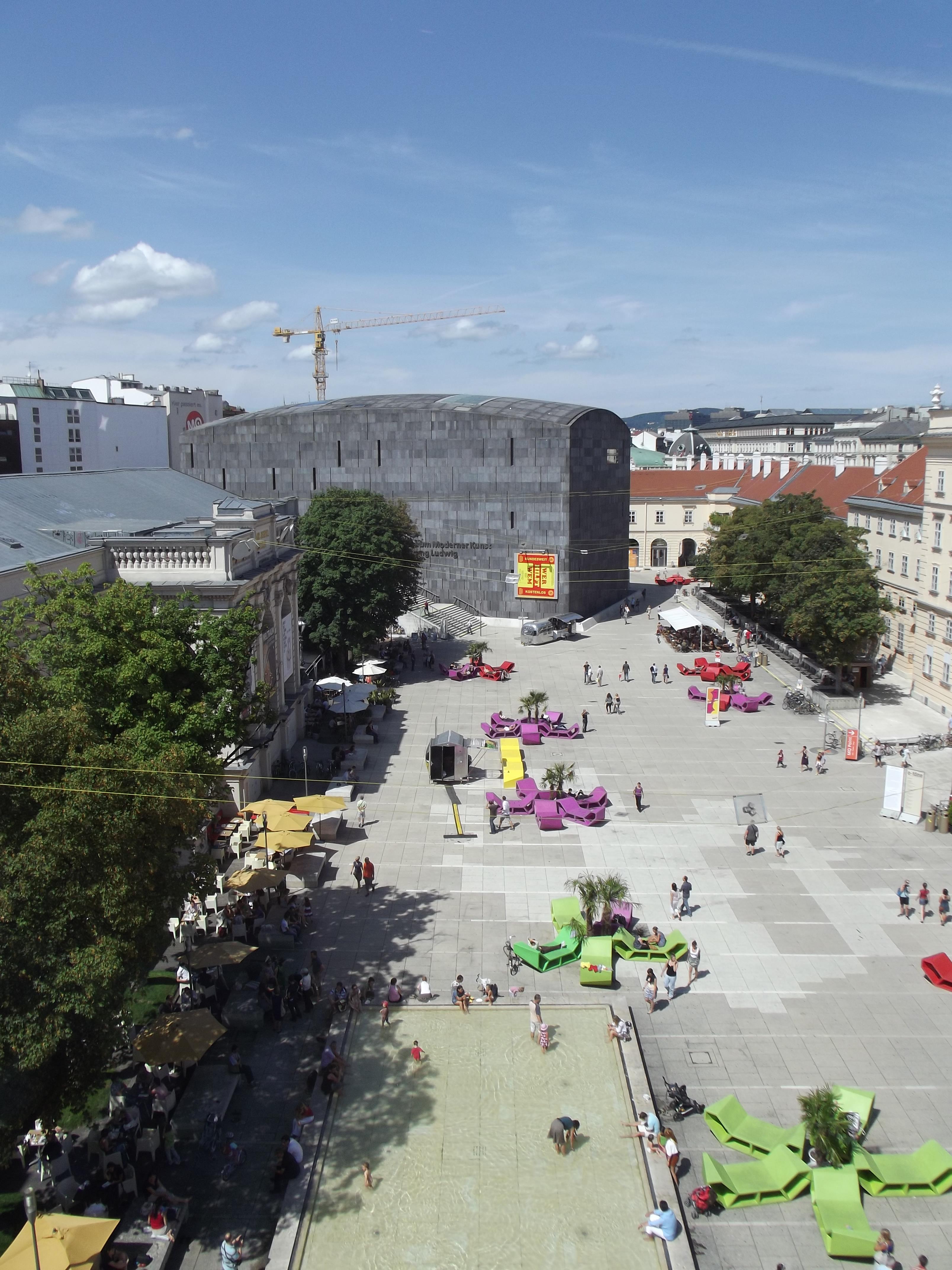 pogled na Muzejski kvart